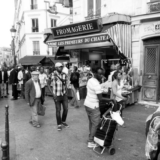 Château Rouge, #Paris, #France#chateaurouge #blackandwhite #monochromatic #parisblackandwhite #bw #parisnoiretblanc #bnw #mono #streetphoto #monochrome #blackandwhitephotography #barbesrochechouard #streetart #bnw_life #blachandwhite #bnwphotography #insta_bw #light #iloveparis #pompidou #streetphotography #start66 #street #noiretblanc #urbanexplorer #streetphoto_bw #parismonmartre #barbes