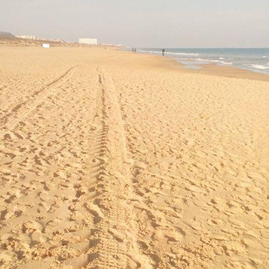 La Mata Beach ends here