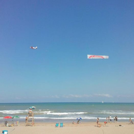 Aerial ad. La Mata Beach North