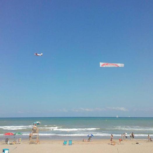 Aerial ad. La Mata Beach North