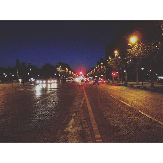 Paris night #parisfrance #paris #france #beautiful #beauty #parisjetaime #parisphoto #parismonamour #eiffeltower #sunsets #igersfrance #topparisphoto #wanderlust #travel  #parismaville #ig_france  #parisian #parislove #cityscape #french #architecture #architectureporn #night #buildings #sunset #sky #vsco #vscocam #vscogrid #street