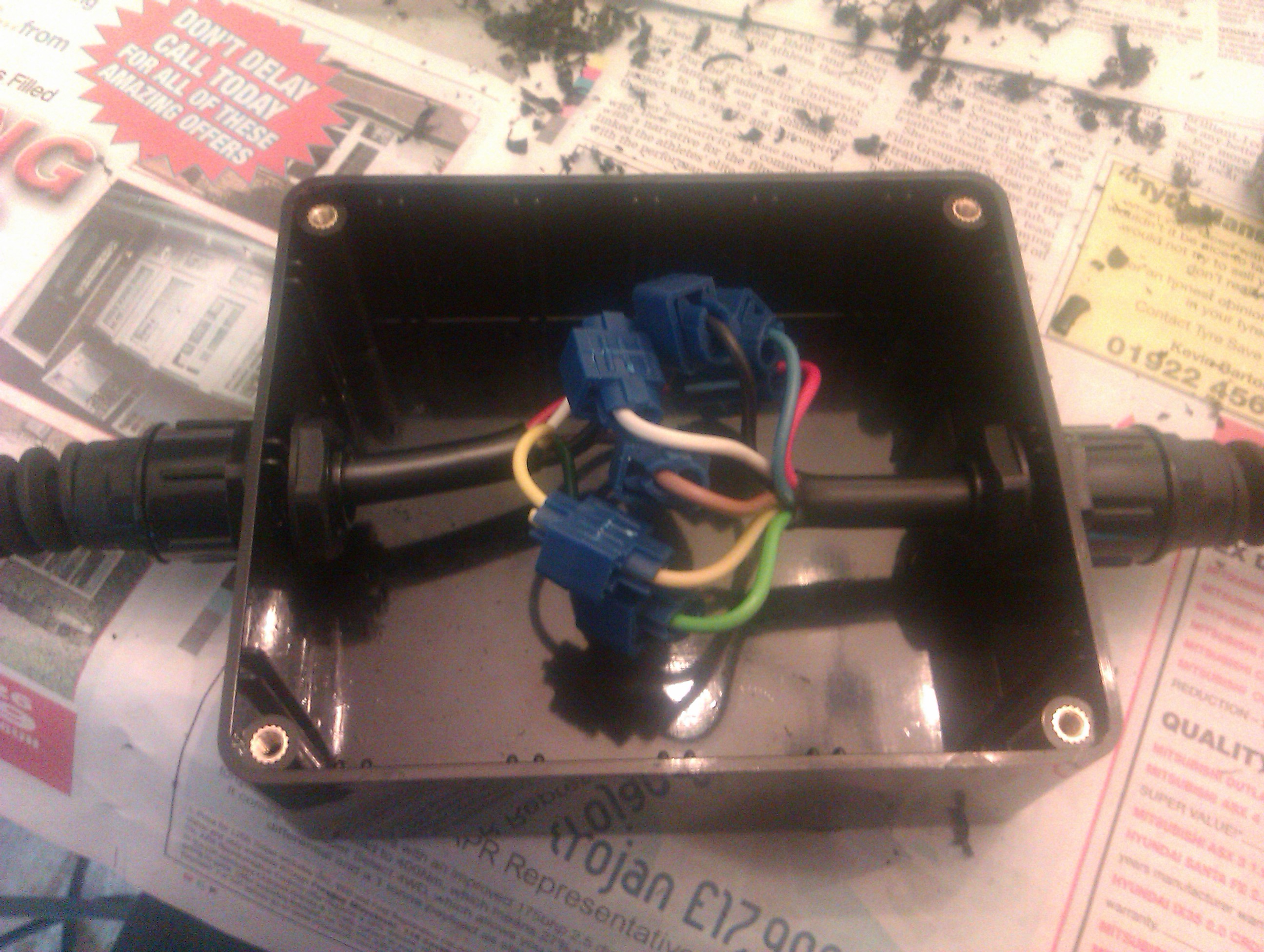 Wiring Junction Box Additionally Wiring A Junction Box Likewise Light