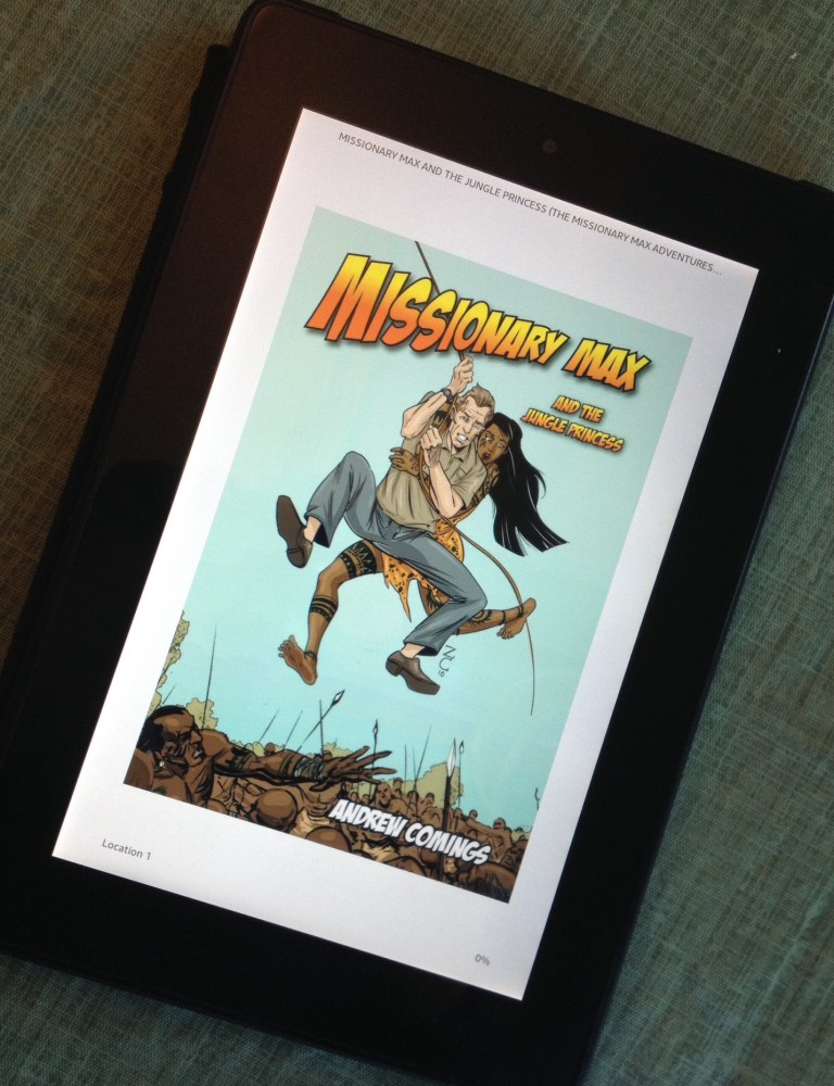 Missionary Max and the Jungle Princess – Kindle Version!