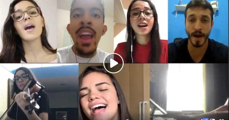 Musical Interlude: Quarantine Does Not Prevent Brazilian Young People from Praising God