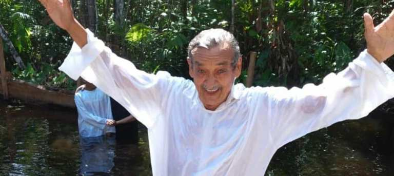 A Very Special Weekend: Ebenezer Retreat and Baptism
