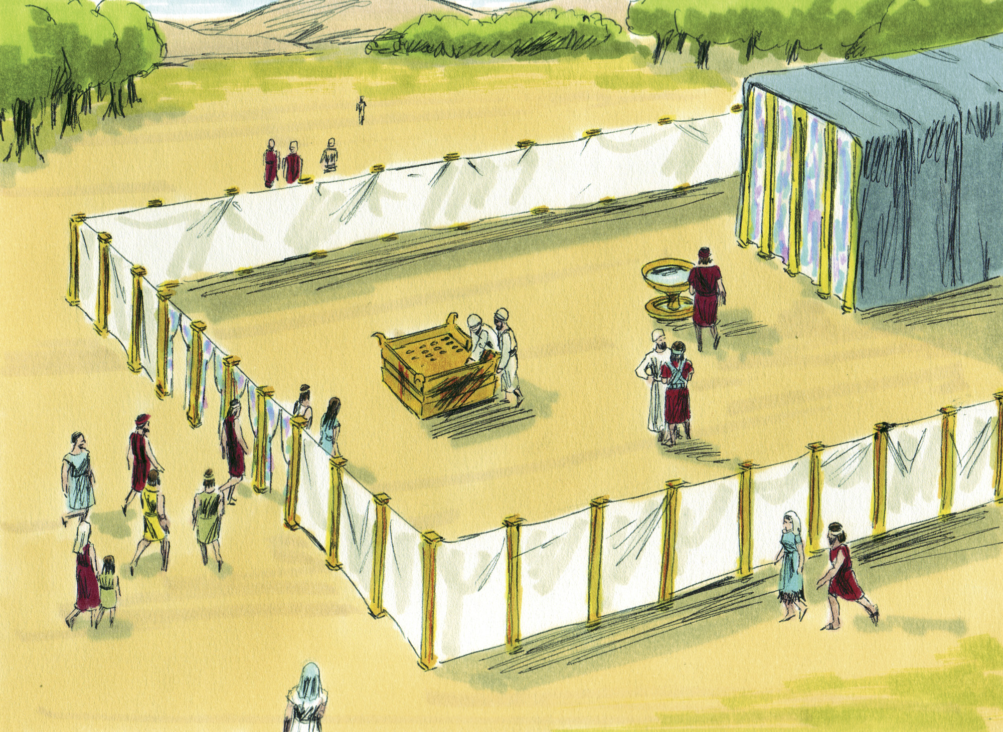 The Priesthood And Tabernacle