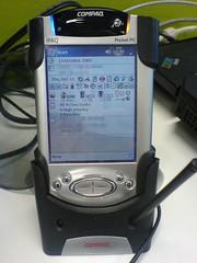 My iPaq 3870