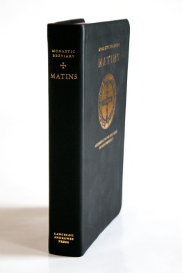 Monastic Breviary Matins Spine