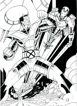 Colossus Iron Man Silver Surfer