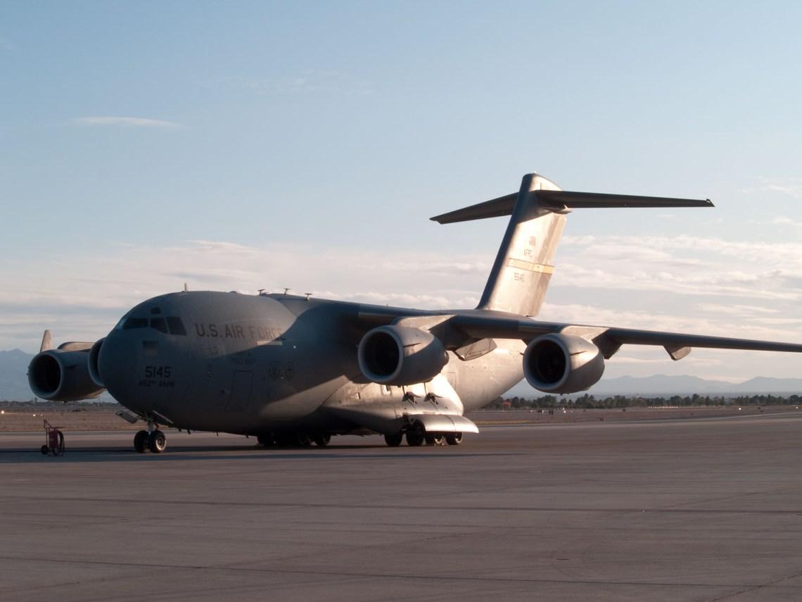 C7 Cargo Plane