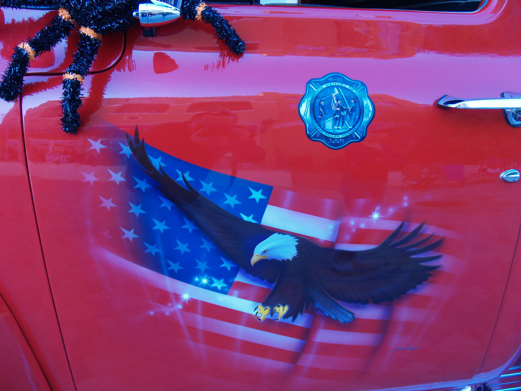 Custom Paint at Lake Las Vegas Car Show 2011
