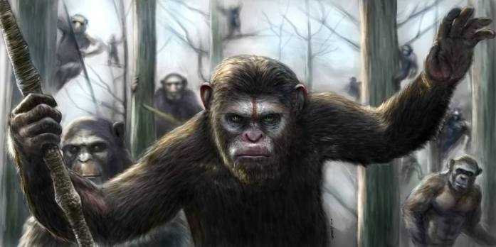 Planet of the Apes Comic Art