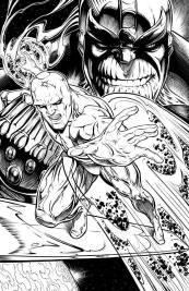 Silver Surfer Comic Art