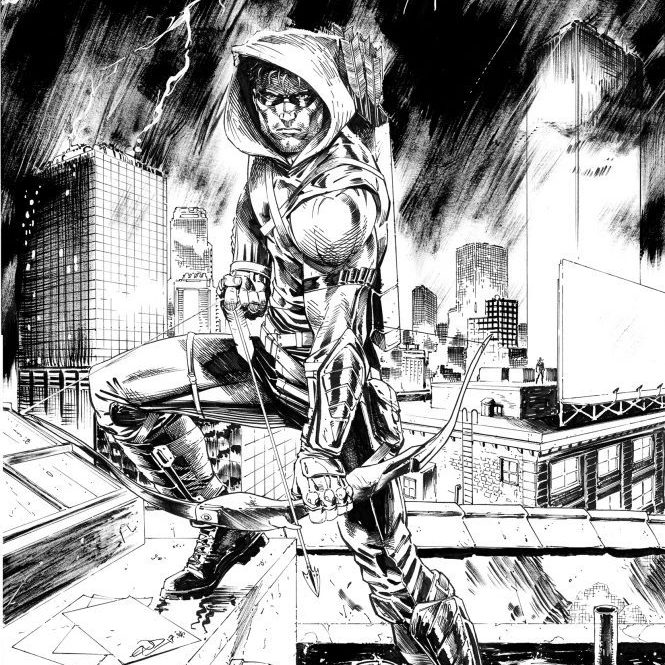 Eric Ninaltowski Comic Art - Arrow