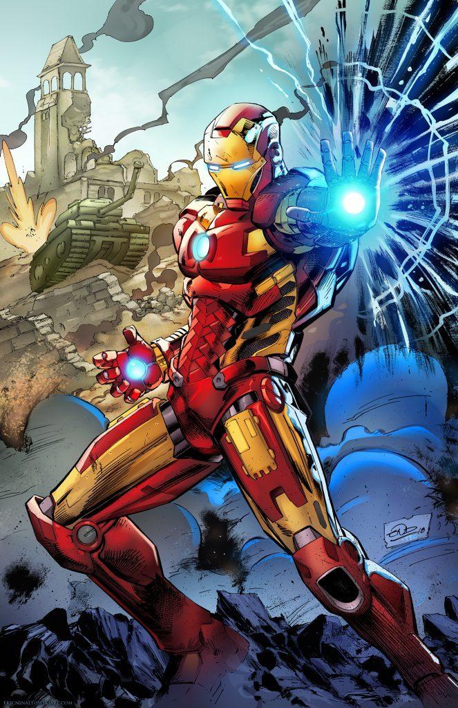 Eric Ninaltowski Comic Art - Iron Man