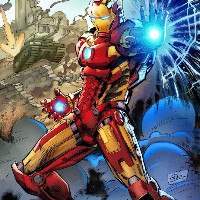 Eric Ninaltowski Comic Art - Iron Man