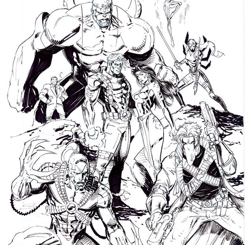 Eric Ninaltowski Comic Art - Wildcats