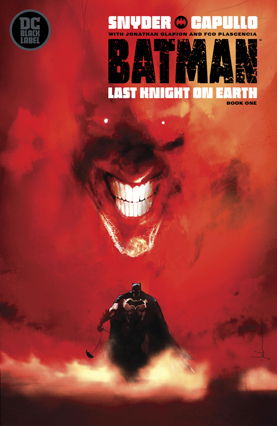 BATMAN LAST KNIGHT ON EARTH #1 VAR Jock