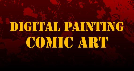 Digital Painting Comic Art