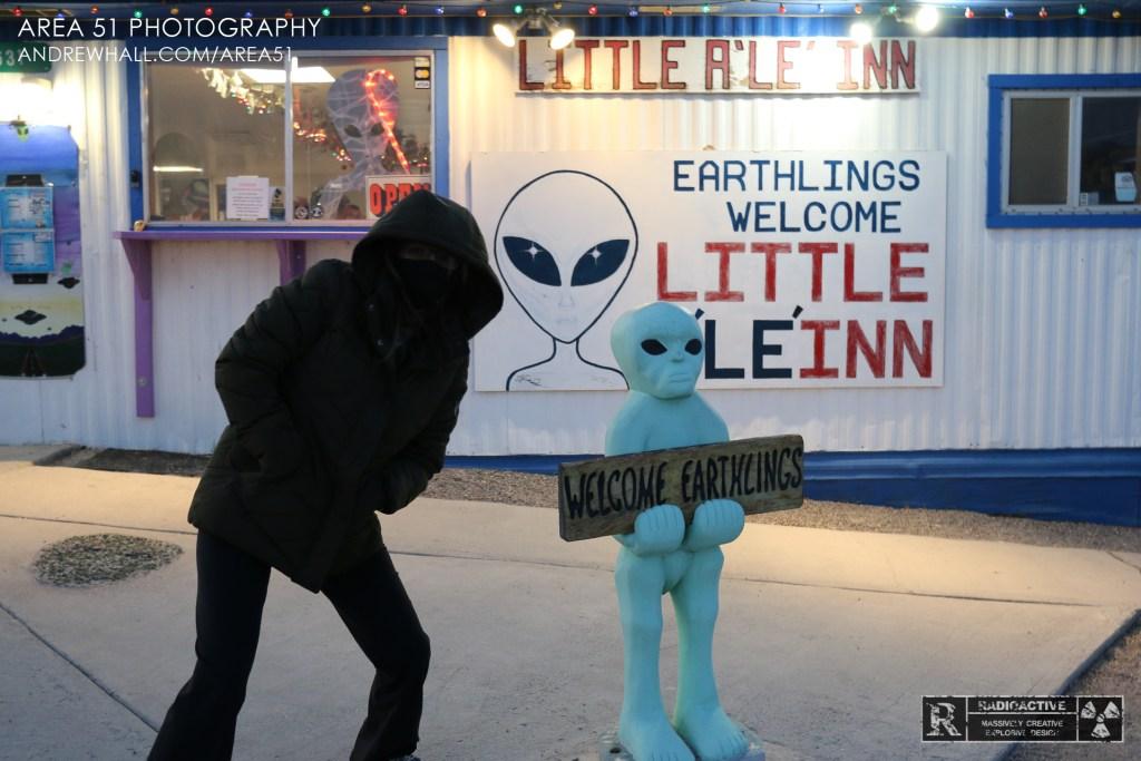 Little Ale'Inn Area 51 Photography