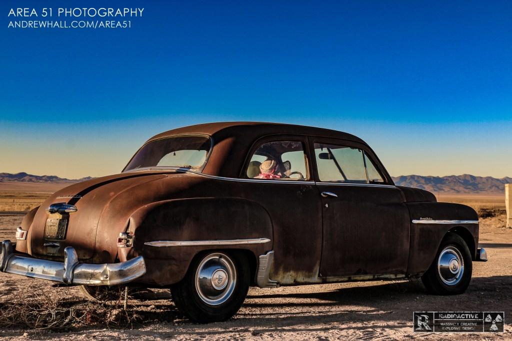Rachel Nevada Area 51 Photography