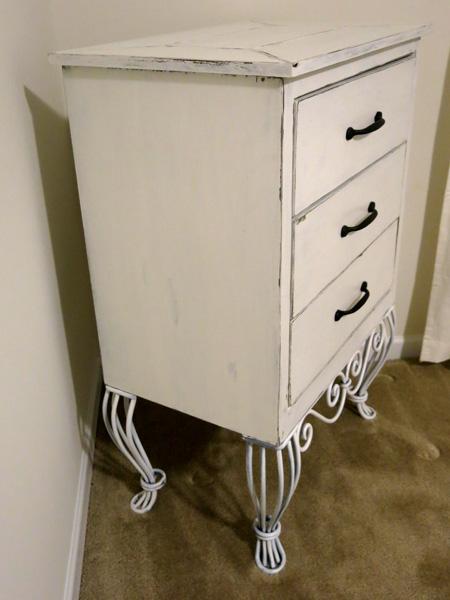 Antique Finish Cabinet