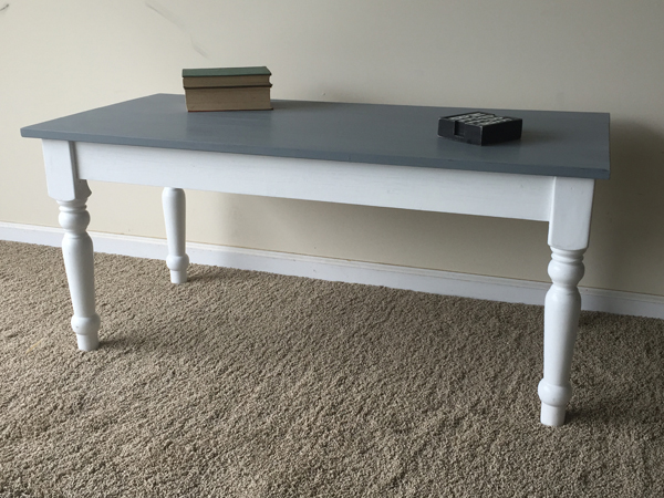 White and gray Coffee Table 1