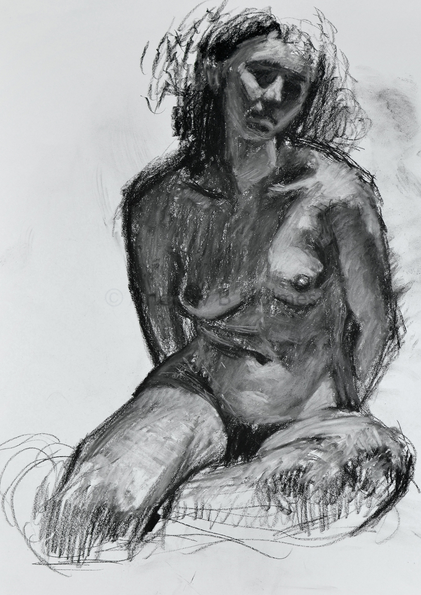 The Pose: Recent Life Sketches