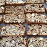 GBBO Biscuit Week Challenge 2: Chocolate and Nut Biscotti