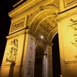 The Arc at night