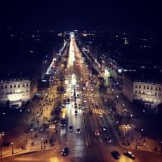 View of the Champs Elysées 2