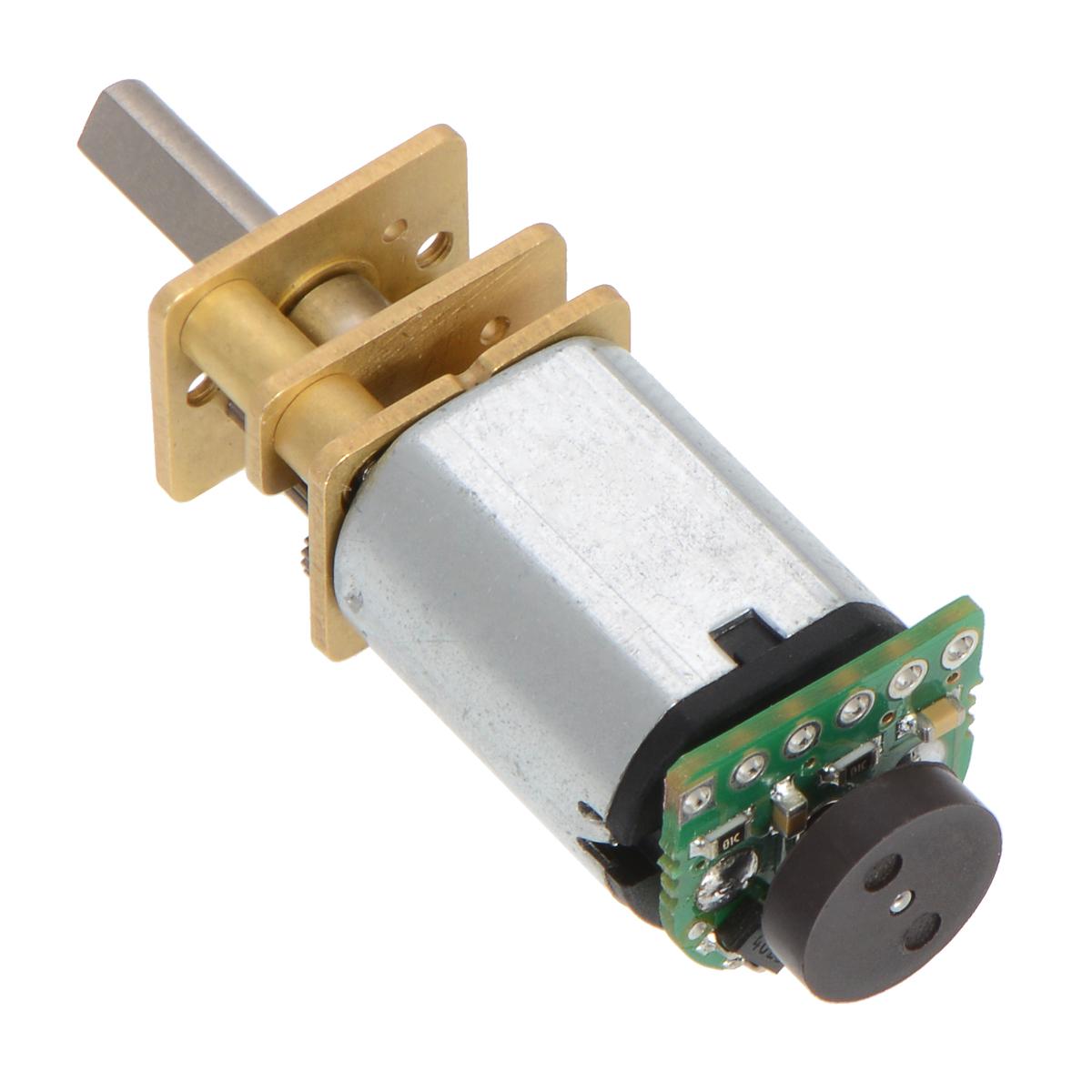 hight resolution of motor encoder installation