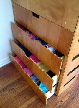 bunk bed drawers