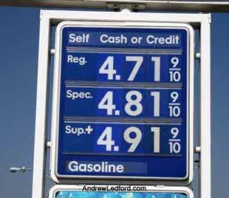 High Gas Prices But Not Too High