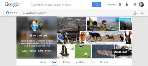 Andrew's Google +