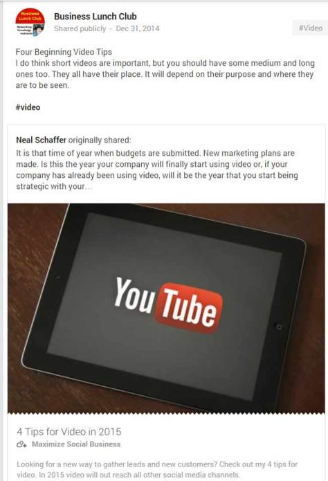 YouTube 4 Tips To Follow in 2015