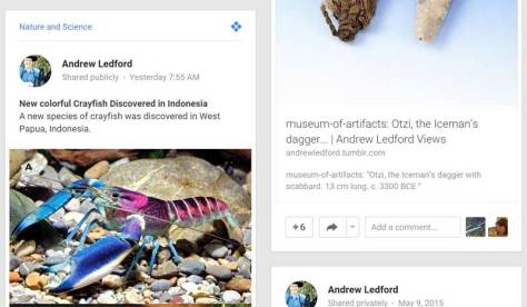 Google Plus Stream5-11 new species of crayfish