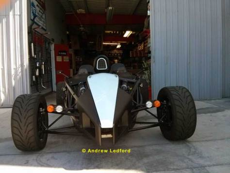 Ariel Atom Front End at MADNESS Autoworks