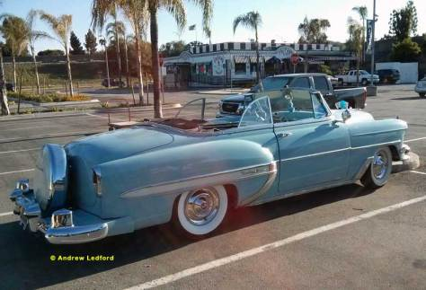 Chevy Bel Air Convertible Parking Lot Find