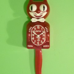 Colors For Kitchens Brass Kitchen Hardware Kit-cat Clock | Marshall Design