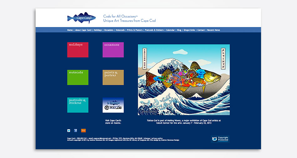 CapeCard-website