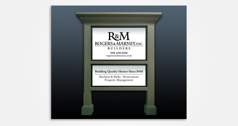 Rogers-And-Marney-Builders-job-sign