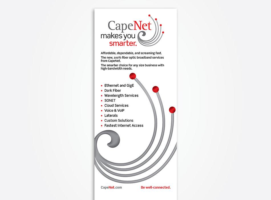 Andrew Newman Design CapeNet branding and identity