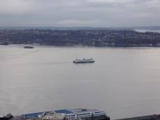 Cruising on the bay