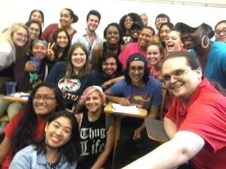 WGSS2360-03 Class Selfie