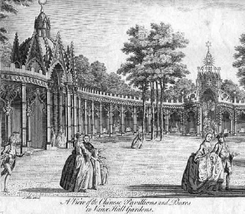 Chinese Pavillion, Vauxhall Pleasure Gardens, mid eighteenth-century