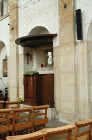 St Benet's Kentish Town, the nave pulpit.