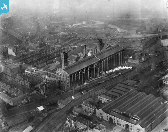 Bryant & May match factory, Bow c.1921