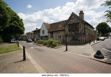 Walthamstow Village, 15th-century 'hall house' at Orford Road, Walthamstow, London
