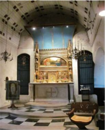 The Lady Chapel, in the church of St Augustine of Canterbury, Highgate, London (UK). (Source: Paul Bell. 2012)